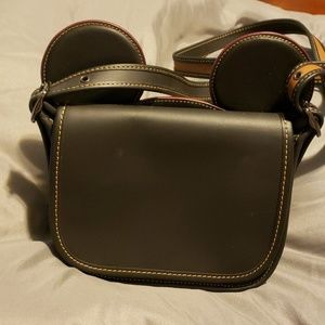 Disney x Coach black Patricia purse w/ Mickey ears